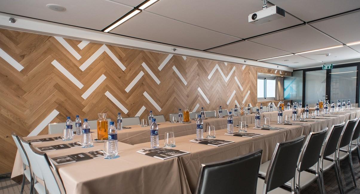 Business meeting room in Tel Aviv Hotel