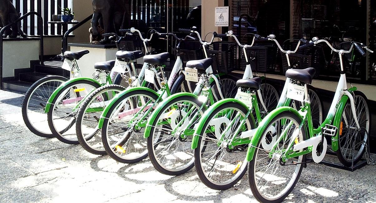 אופניים חינם מלון סנטר שיק