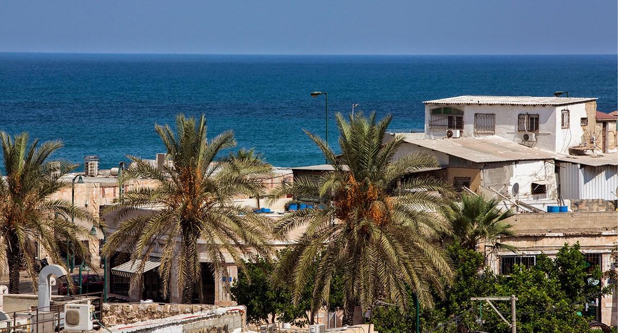 חוף הים מול מלון מרקט האוס