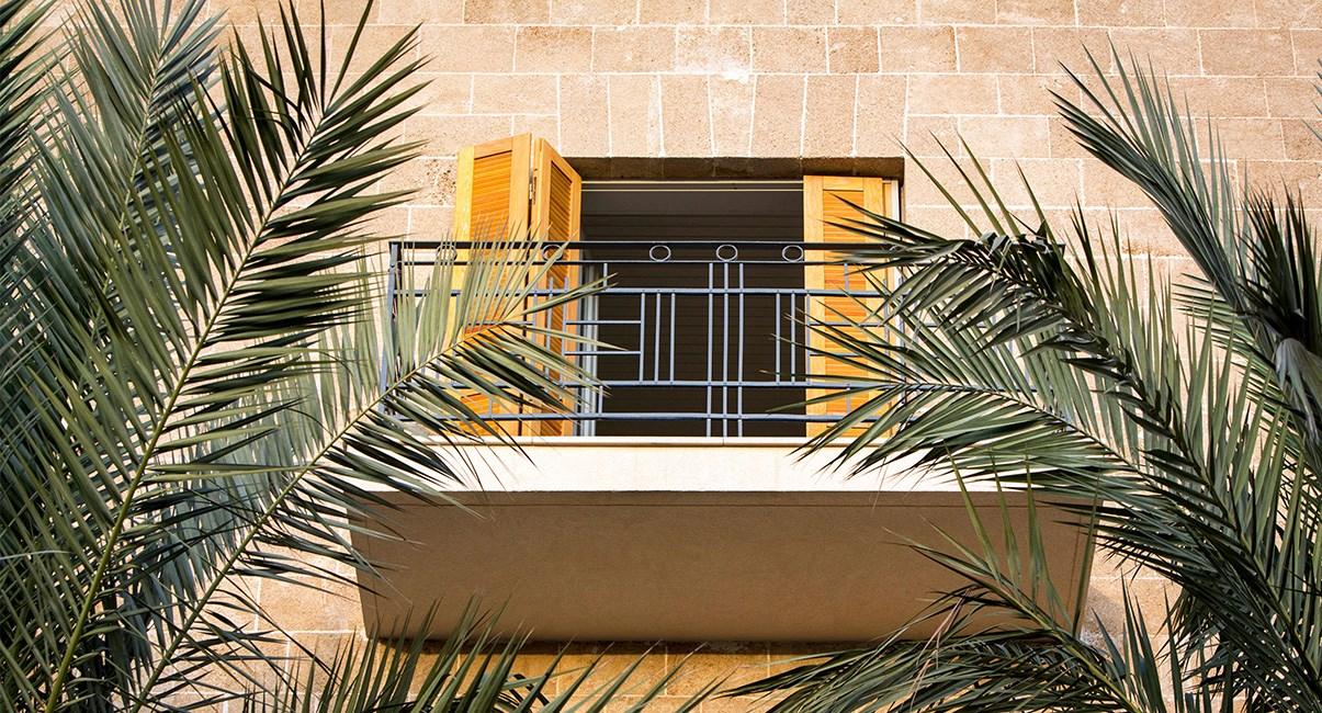 מלון מרקט האוס מבנה