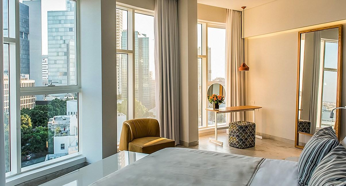65 hotel room