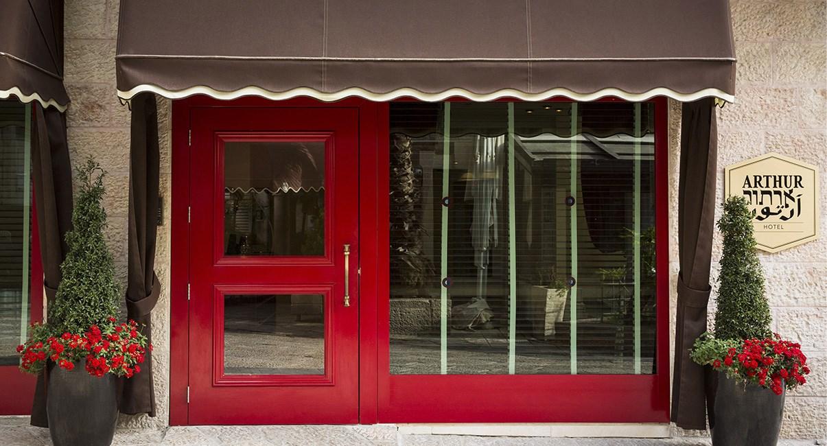 arthur hotel entrance