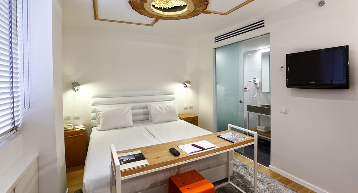 חדר מעוצב במלון בוטיק