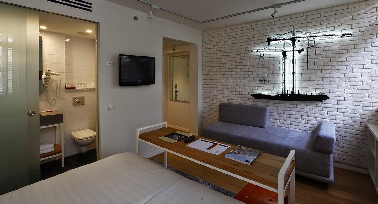 חדר זוגי מלון ארטפלוס תל-אביב