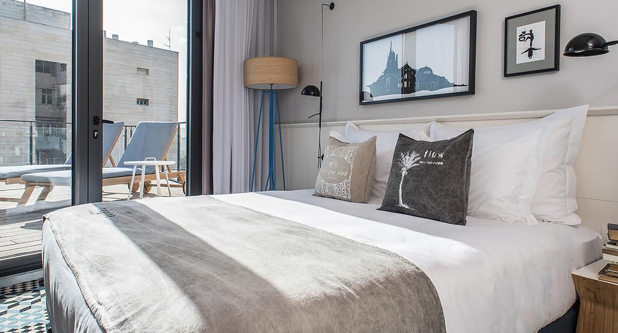 bezalel hotel room
