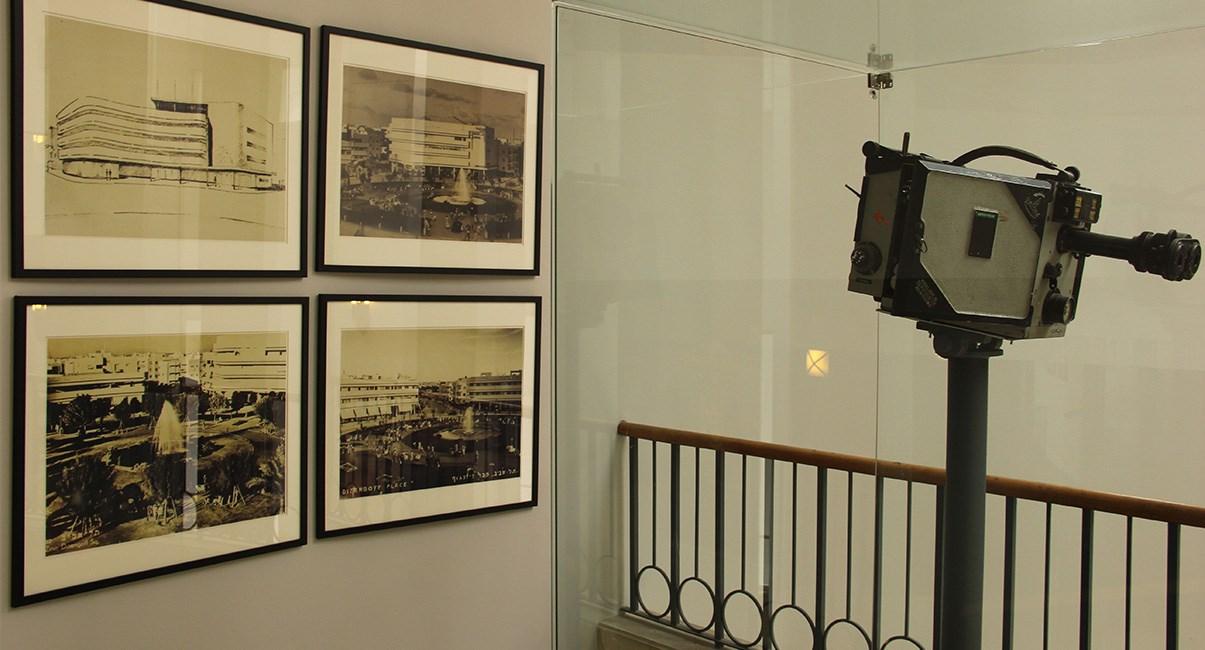 old camera at cinema hotel