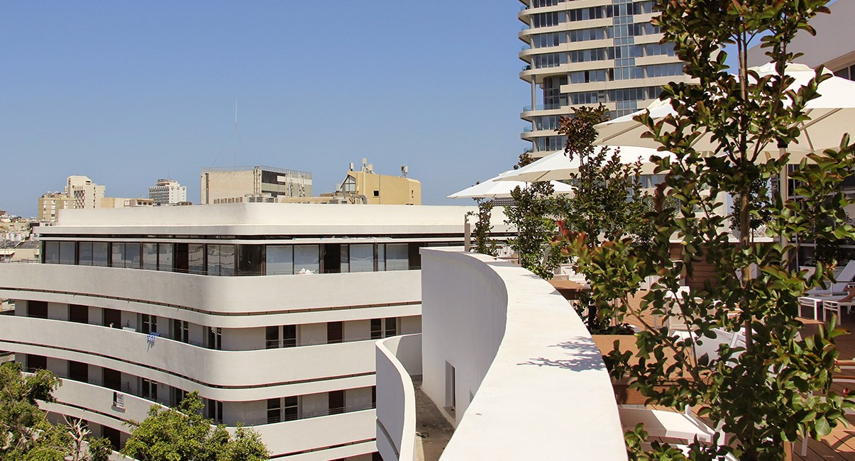 cinema hotel rooftop
