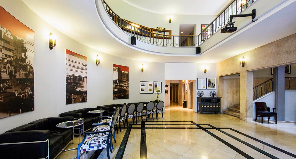 cinema hotel lobby