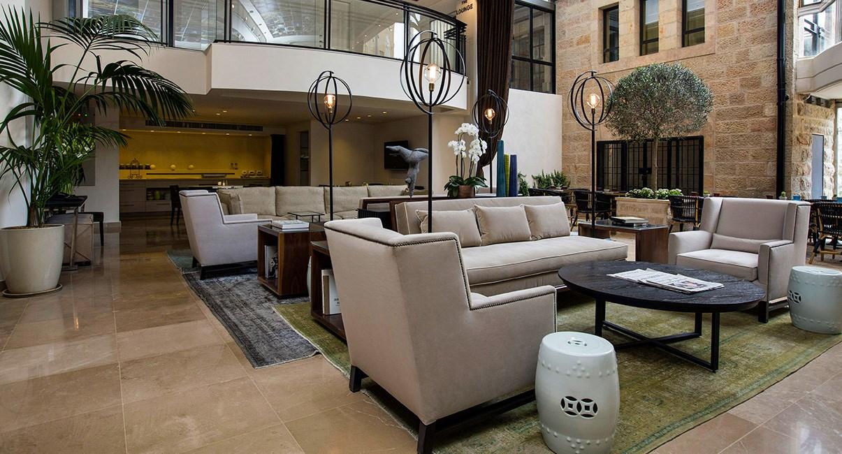 lobby at harmony hotel