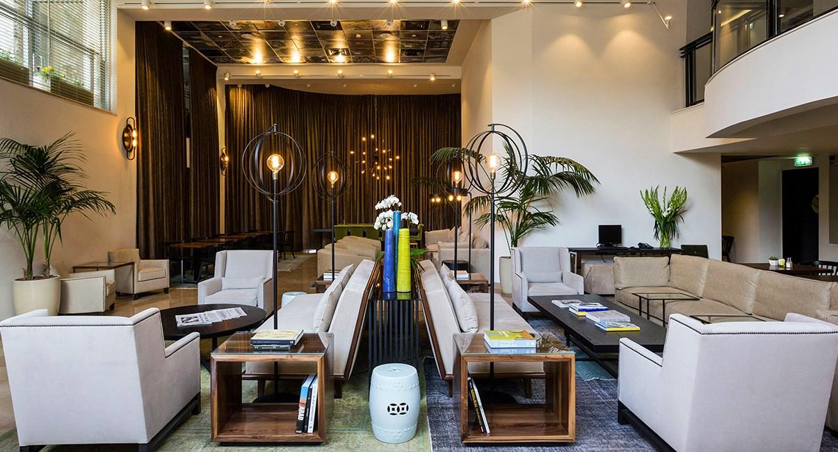 lobby boutique hotel jerusalem