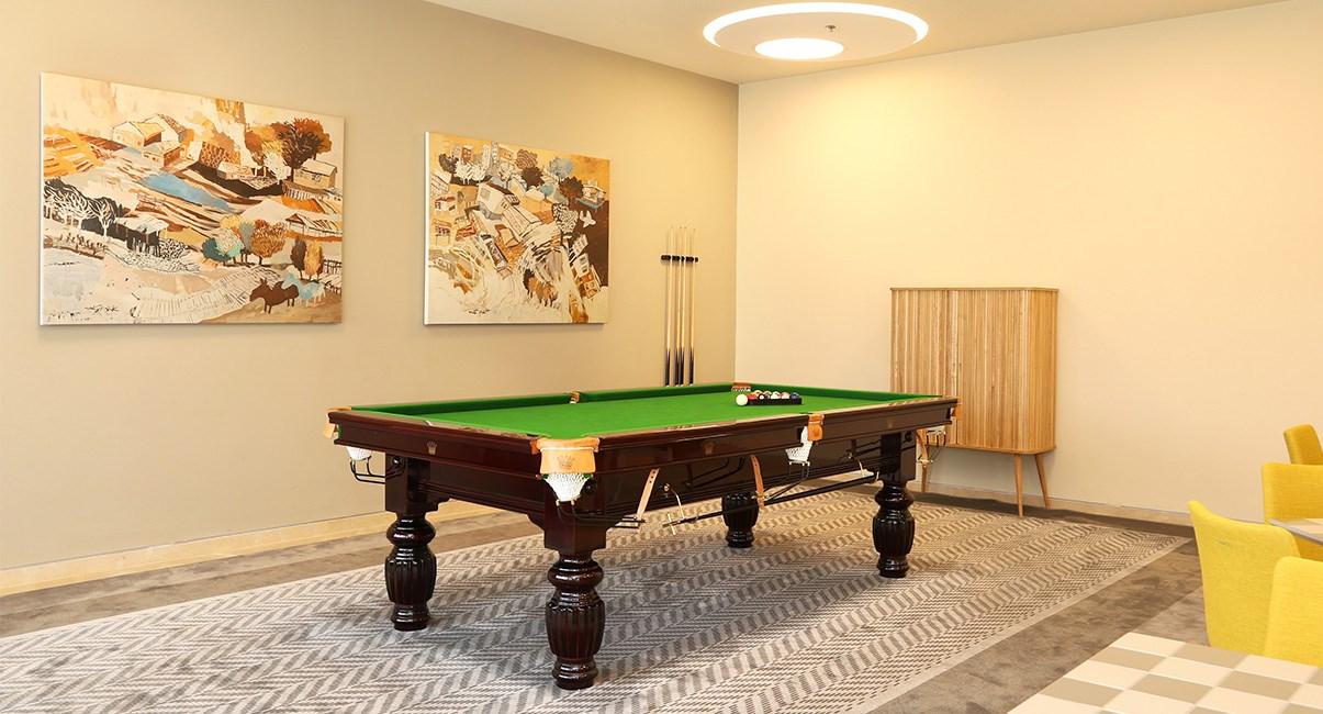 pool table sadot hotel
